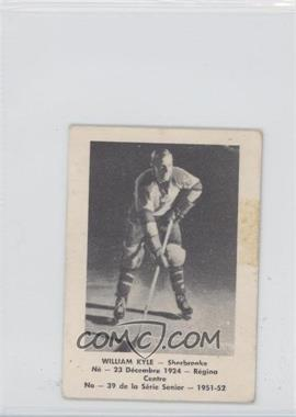 1951-52 Laval Dairy QSHL #39 - William Kyle [Good to VG‑EX]