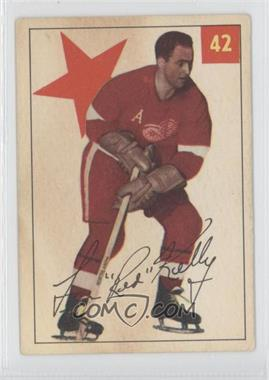 1954-55 Parkhurst - [Base] #42 - Red Kelly
