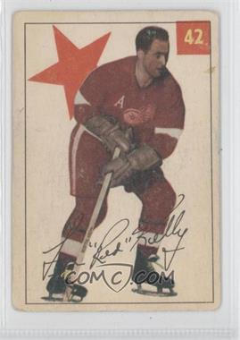 1954-55 Parkhurst #42 - Red Kelly [Good to VG‑EX]