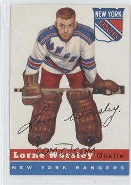 1954-55 Topps #10 - Gump Worsley