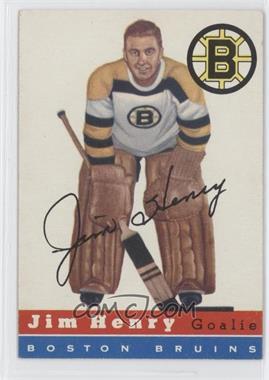 1954-55 Topps #37 - Jim Henry