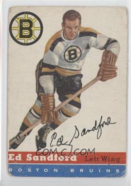 1954-55 Topps #48 - Ed Sandford