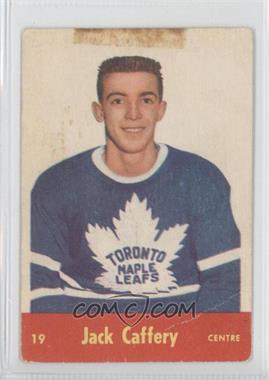 1955-56 Parkhurst - [Base] #19 - Jack Caffery