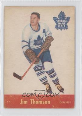 1955-56 Parkhurst #11 - Jimmy Thomson
