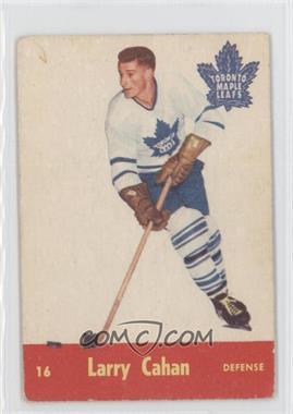 1955-56 Parkhurst #16 - Larry Cahan