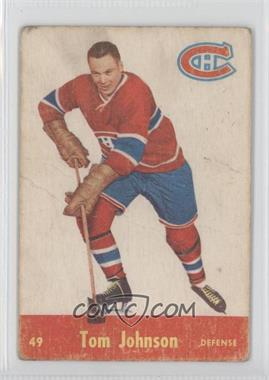 1955-56 Parkhurst #49 - Tom Johnson