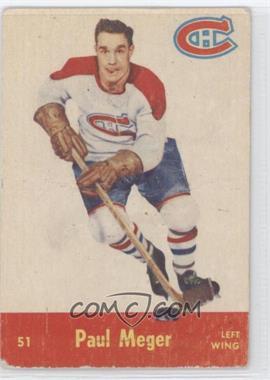 1955-56 Parkhurst #51 - Paul Meger