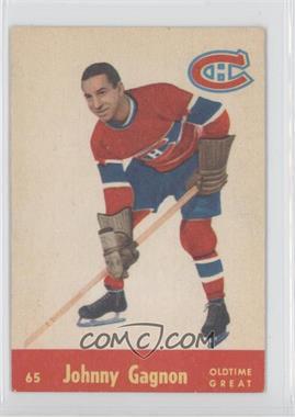 1955-56 Parkhurst #65 - Johnny Gagnon