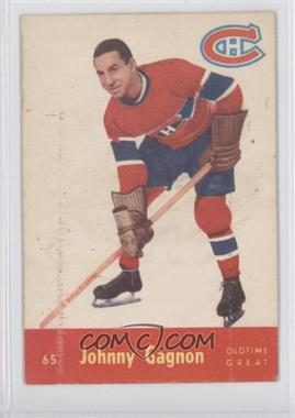 1955-56 Parkhurst #65 - Johnny Gagnon