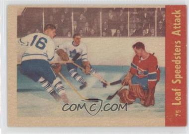 1955-56 Parkhurst #75 - Eric Nesterenko, Sid Smith