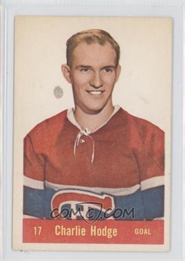 1957-58 Parkhurst #17 - Charlie Hodge