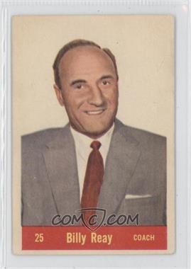 1957-58 Parkhurst #25 - Billy Reay