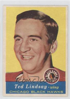 1957-58 Topps - [Base] #21 - Ted Lindsay