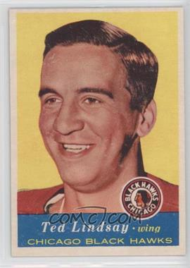 1957-58 Topps #21 - Ted Lindsay