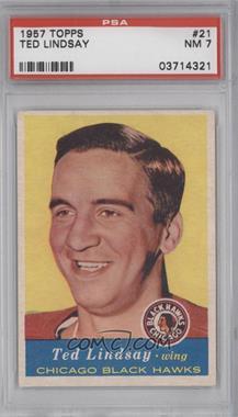 1957-58 Topps #21 - Ted Lindsay [PSA7]