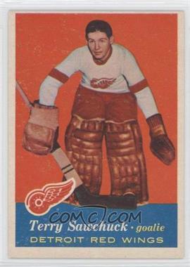 1957-58 Topps #35 - Terry Sawchuk