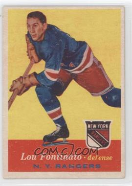 1957-58 Topps #64 - Lou Fontinato