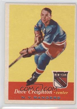 1957-58 Topps #66 - Dave Creighton