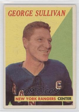 1958-59 Topps #48 - George Sullivan