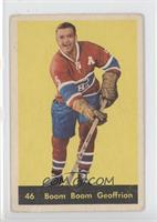Boom Boom Geoffrion [Poor to Fair]