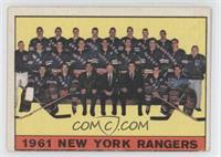 New York Rangers Team [Good to VG‑EX]