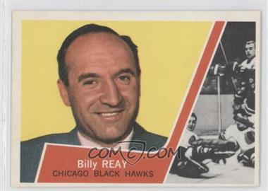 1963-64 Topps #22 - Billy Reay