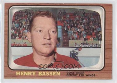 1966-67 Topps #107 - Henry Bassen