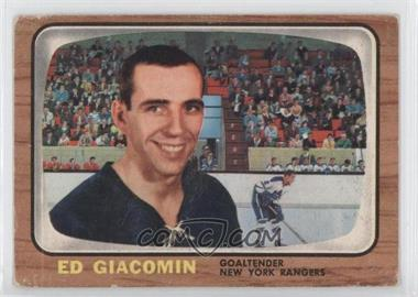 1966-67 Topps #23 - Ed Giacomin [Good to VG‑EX]