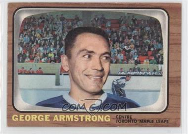 1966-67 Topps #84 - George Armstrong