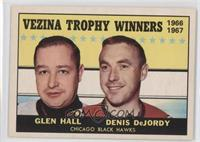 Glenn Hall, Denis DeJordy