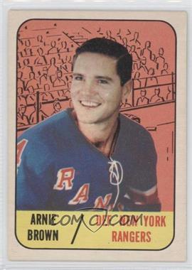 1967-68 Topps #89 - Arnie Brown