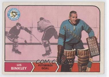 1968-69 O-Pee-Chee - [Base] #100 - Les Binkley