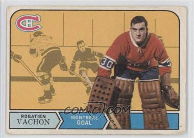 1968-69 O-Pee-Chee - [Base] #164 - Rogie Vachon [Good to VG‑EX]