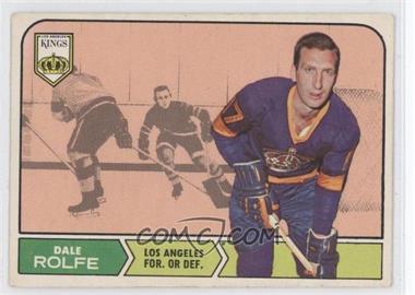 1968-69 O-Pee-Chee #41 - Dale Rolfe