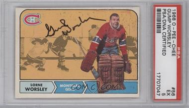 1968-69 O-Pee-Chee #56 - Gump Worsley [PSA/DNA Certified Auto]