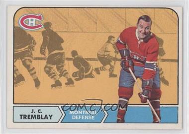 1968-69 O-Pee-Chee #59 - J.C. Tremblay