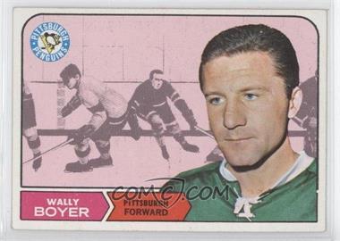 1968-69 Topps - [Base] #105 - Wally Boyer