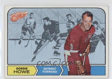 1968-69 Topps - [Base] #29 - Gordie Howe [Good to VG‑EX]