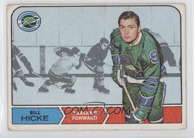 1968-69 Topps - [Base] #86 - Bill Hicke [GoodtoVG‑EX]