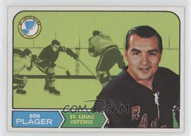 1968-69 Topps #112 - Bob Plager