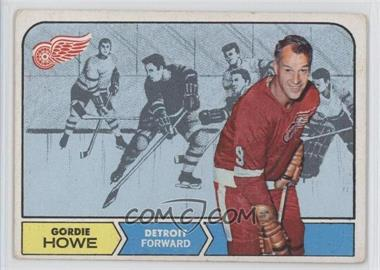 1968-69 Topps #29 - Gordie Howe [Good to VG‑EX]