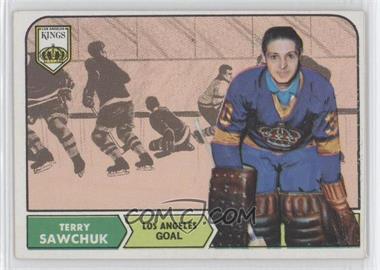 1968-69 Topps #34 - Terry Sawchuk