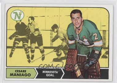 1968-69 Topps #45 - Cesare Maniago