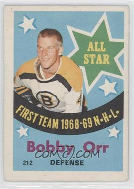 1969-70 O-Pee-Chee - [Base] #212 - Bobby Orr [Good to VG‑EX]