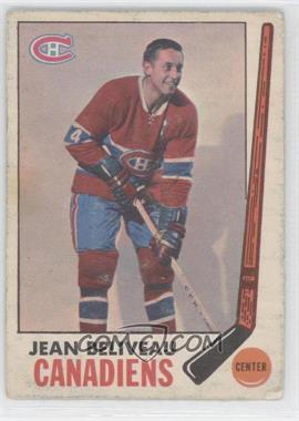 1969-70 O-Pee-Chee #10 - Jean Beliveau