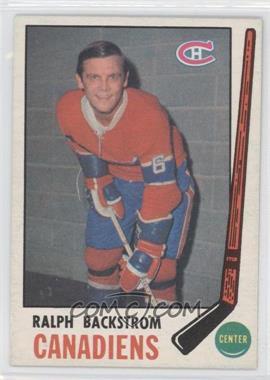 1969-70 O-Pee-Chee #166 - Ralph Backstrom