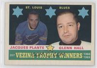 Jacques Plante, Glenn Hall