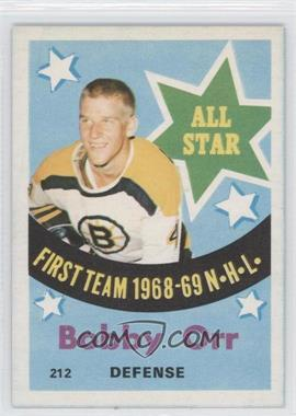 1969-70 O-Pee-Chee #212 - Bobby Orr [Good to VG‑EX]