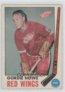 1969-70 O-Pee-Chee #61 - Gordie Howe [GoodtoVG‑EX]