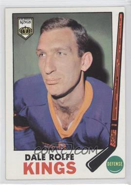 1969-70 Topps - [Base] #100 - Dale Rolfe
